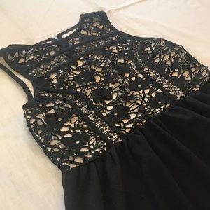 Size L Xhilaration black formal dress